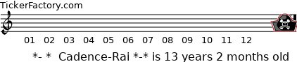 http://tickers.TickerFactory.com/ezt/d/2;10711;440/st/20090423/n/%2A-+%2A++Cadence-Rai+%2A-%2A/dt/5/k/f1bf/age.png