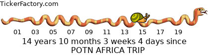 IMAGE: http://tickers.TickerFactory.com/ezt/d/4;10402;126/st/20070826/e/POTN+AFRICA+TRIP/k/a1fb/event.png