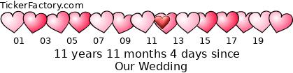 [http://tickers.TickerFactory.com/ezt/d/4;10716;6/st/20110902/e/Our+Wedding/dt/5/k/b8c0/event.png]