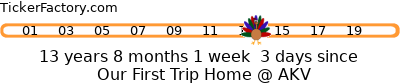 http://tickers.TickerFactory.com/ezt/d/4;36;100/st/20081109/e/Our+First+Trip+Home+%40+AKV/dt/-1/k/a45a/event.png